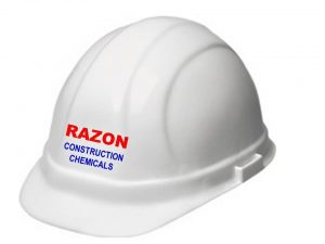 Hard Hat of RAZON CONSTRUCTION CHEMICALS   Water Proofing in Pune   Construction Chemical Manufacturer India   Construction Chemical   Waterproofing Chemicals