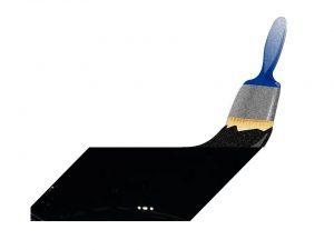 black colored coating